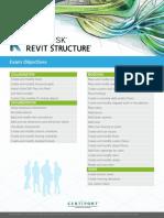 ACP Revit Structure Exam Objectives 052517RA