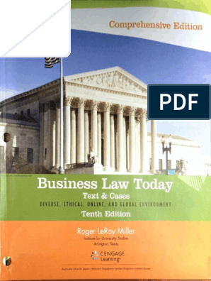 Business Law Today Tenth Editionpdf Security Interest