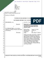 Rhodes Motion for Judicial Notice