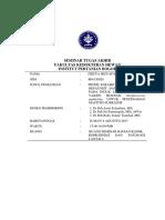 (Rev. Drh Estu) Makalah Seminar Hasil Firzya IP B04130028