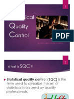 MS Statastical Quality Control