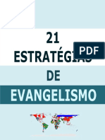 21 Estratégias de Evangelismo