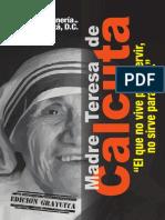 Madre Teresa Decal Cut A