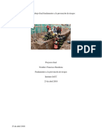 Trabajo Final Fundamentos a La Prevencion de Riesgos Francisco Barahona