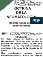 DOCTRINA DE LA NEUMATOLOGIA (Teorias Falsas sobre Espíritu Santo).pptx