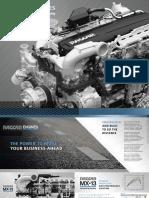 Paccar MX11 MX13  Engine Brochure 2019