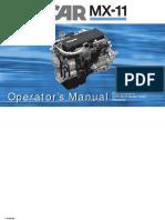 Paccar Mx 11  ENGINE Operators Manual 2018