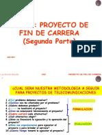 Curso Proyecto de Fin de Carrera - Capítulo II