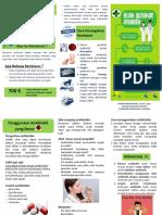 Leaflet disiplin Antibiotik