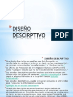 Tipos de Diseño Descirptivo