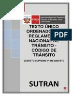 Reglamento de Transito 2009