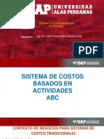 15.- Sistema de Costos Basado en Actividades, Los i