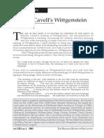 Stanley Cavell's Wittgenstein (Conant).pdf