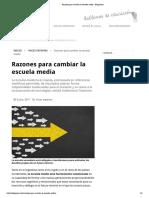 5-Tiramonti-Razones Para Cambiar La Escuela Media - Eduprensa