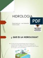 Hidrologia Superficial y Subterranea - Juan Sebastian Garcia Suarez
