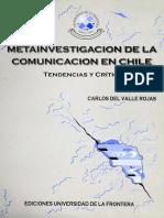 Metainvestigación de la comunicación en Chile