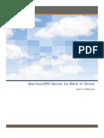 MatrikonOPC Server for Mark VI Direct User Manual
