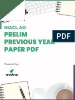 Niacl ao prelims paper