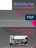 Tutorial Audicom 2018