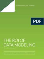 ERStudio ROI of Data Modeling