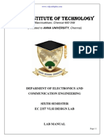 Lab Manual With Procedure for Xilinx and Microwind - Peri Institte of Technology