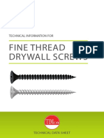 Timco TDS Drywall Screw