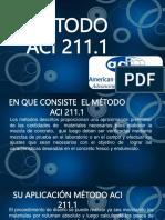 Metodo ACI 211.1