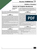 Reglamento Interno Del Conjunto Residencial