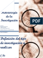 MI ClaseNo3 TiposDeInvestigacion