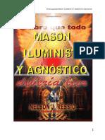 El Libro Que Todo Masón, Iluminista y Agnóstico Debería Leer