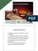 Indian Soy Food Scenario - Suresh Itapu
