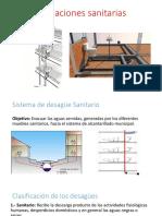 Instalaciones Diseño Sanitario y Pluvial