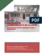 Monografía Corregimiento de La Haya