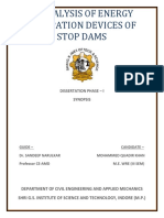 Analysis of Faliure of Stop Dam (Autosaved)