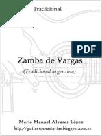 Tradicional. Zamba de Vargas.pdf
