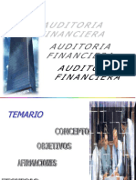 Charla Auditoria Financiera
