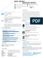Free Resume by Pocolo Oo