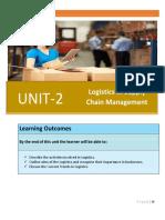 1294769225Unit 2 Logistics in Supply Chain Management