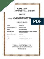 Tugas Akhir Modul 1 EKONOMI PAPER ISMADI SE SMAN TunasBangsa PulauBurung IndragiriHilir Riau LPTK UNIMED