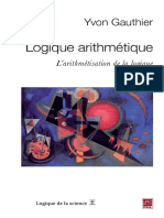 Yvon Gauthier - Logique Arithmétique