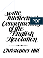 Christopher Hill - Some Intellectual Consequences of the English Revolution-University of Wisconsin Press (1980)