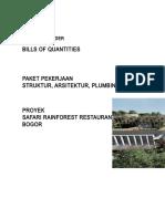BQ-SAP Safari Rainforest Restaurant for Tender
