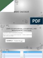Basic Calculus Lecture 3