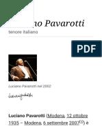 Luciano Pavarotti - Wikipedia