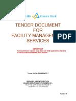 Housekeeping_tender Canara Bank