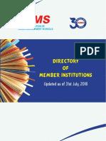 AIMS Valid Members 2018-19