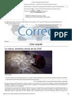 La Cultura, Elemento Central de Los ODS