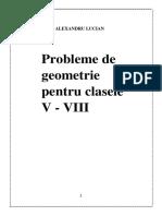 Probleme de geometrie1