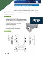 UMTS 2100 Dual Duplex Filter _15MHz