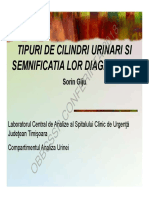 cilindrii urinari